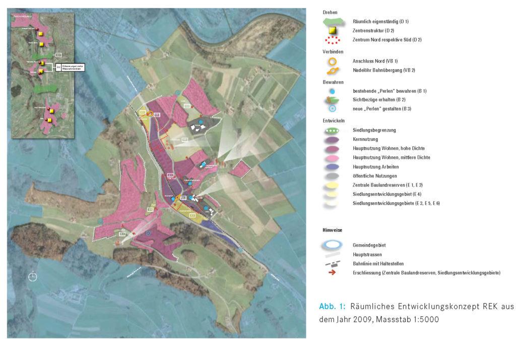 Räumliches Entwicklungskonzept Kehrsatz 2009